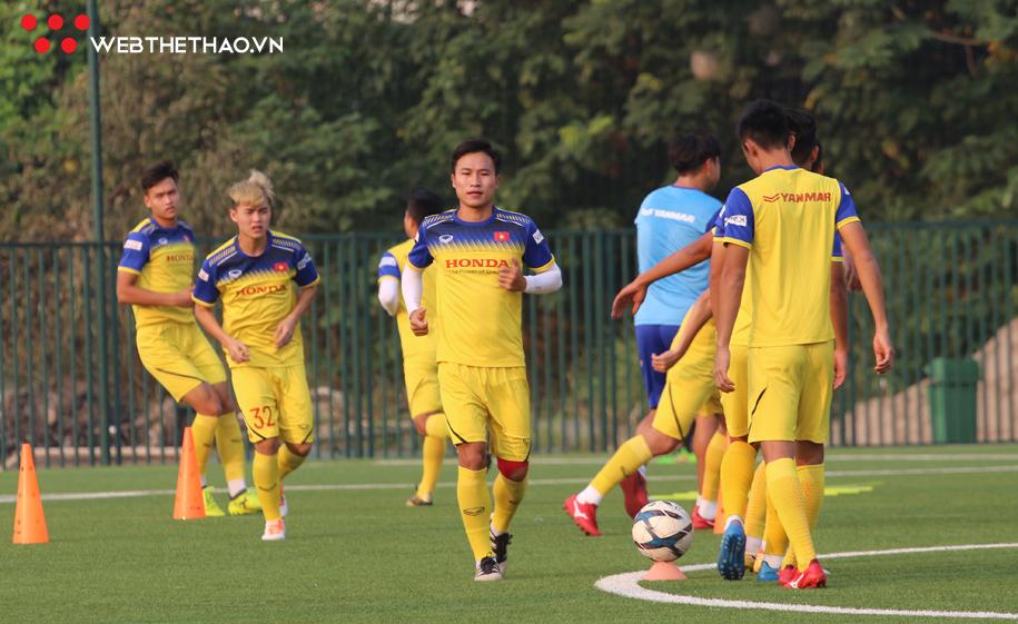 U23 Việt Nam trở lại luyện tập sau kỳ tập huấn tại Hàn Quốc