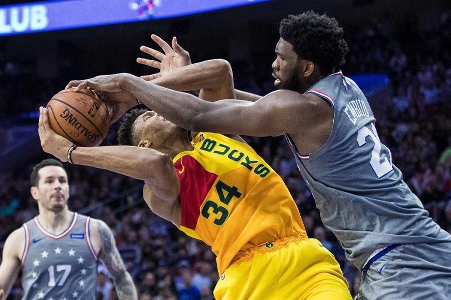 Nhận định NBA: Milwaukee Bucks vs Philadelphia 76ers (ngày 26/12, 2h30)