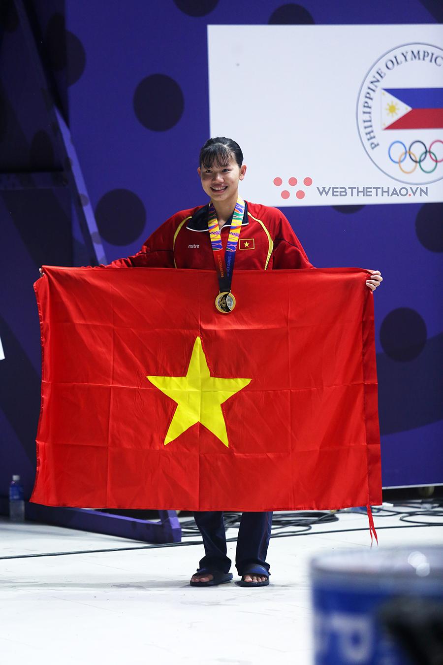 Vượt qua kình ngư Ánh Viên và Huy Hoàng, Nguyễn Thị Oanh trở thành VĐV tiêu biểu năm 2019