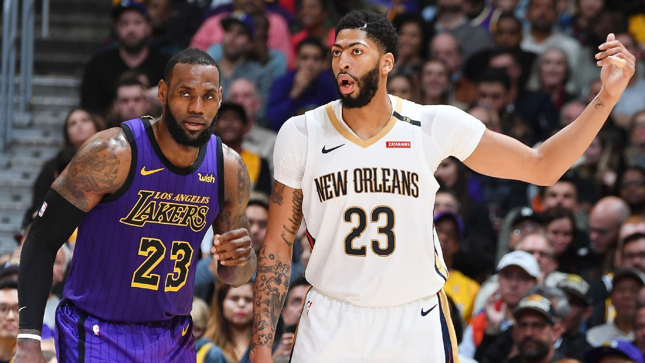 Nhận định NBA: New Orleans Pelicans vs Los Angeles Lakers (ngày 24/2, 7h00)