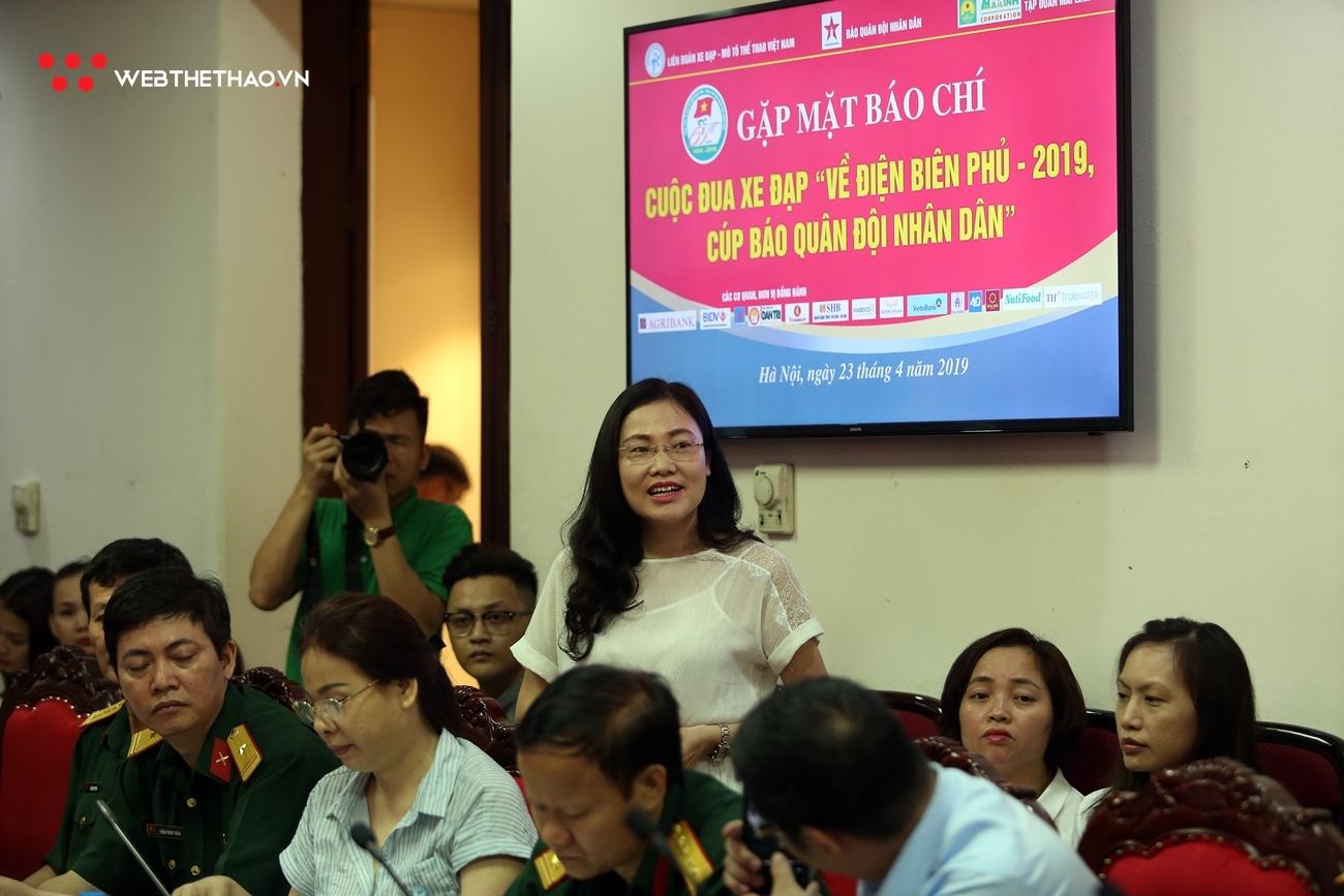 """Chính thức khởi động Cuộc đua Xe đạp """"Về Điện Biên Phủ 2019 - Cúp Báo Quân đội nhân dân"""""""
