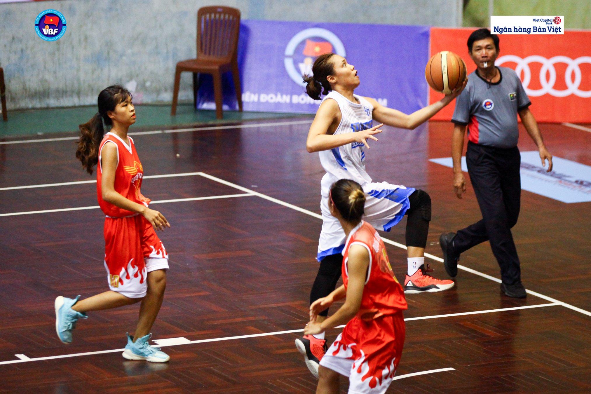 U17 nữ Hà Nội đăng quang Giải Vô địch Bóng rổ Trẻ Quốc gia
