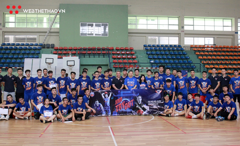Hanoi Buffaloes góp mặt tại giải 3x3 Thanh Hà