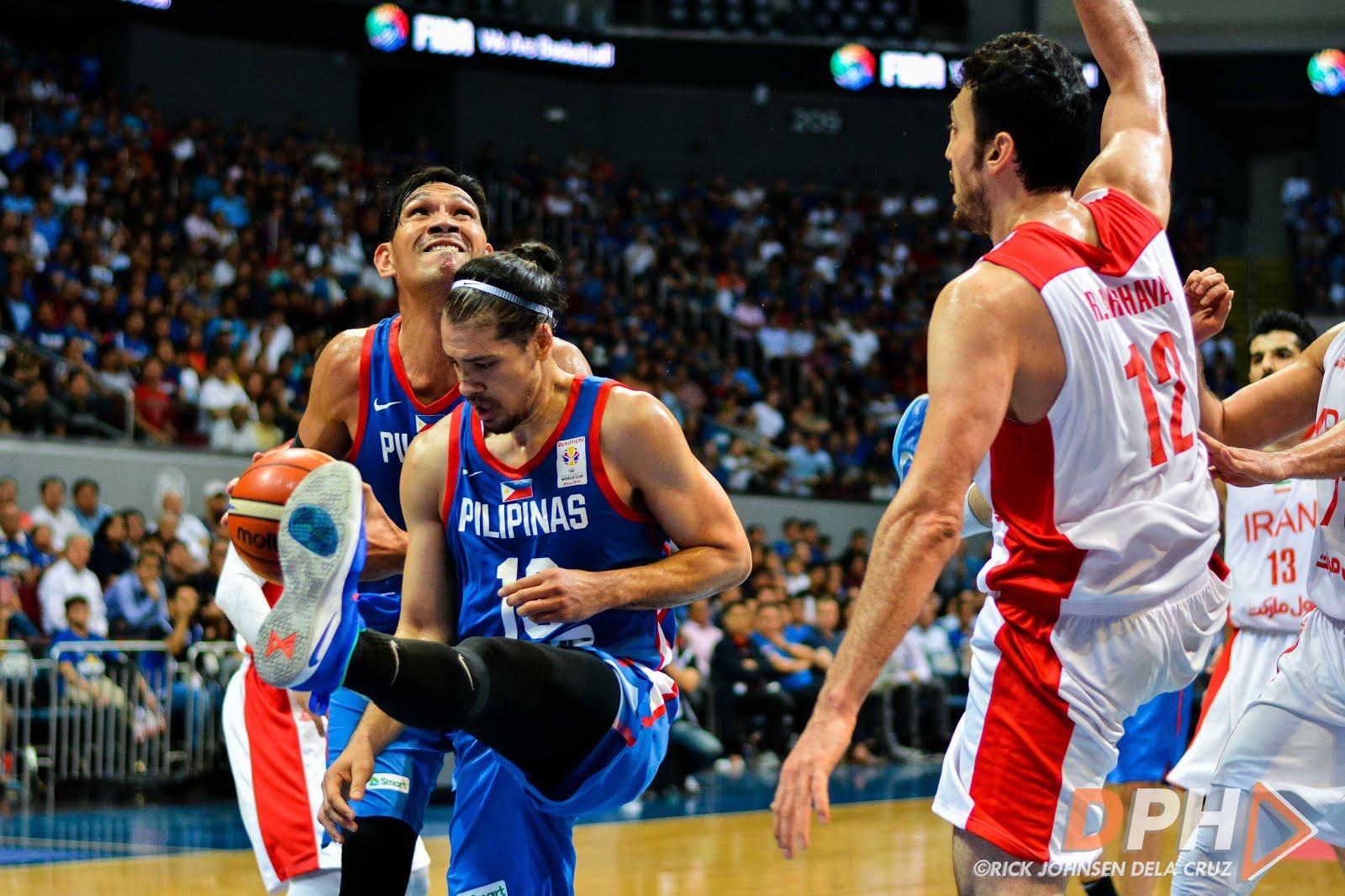 Philippines hòa trận giao hữu đầu tiên trong quá trình chuẩn bị cho FIBA World Cup 2019