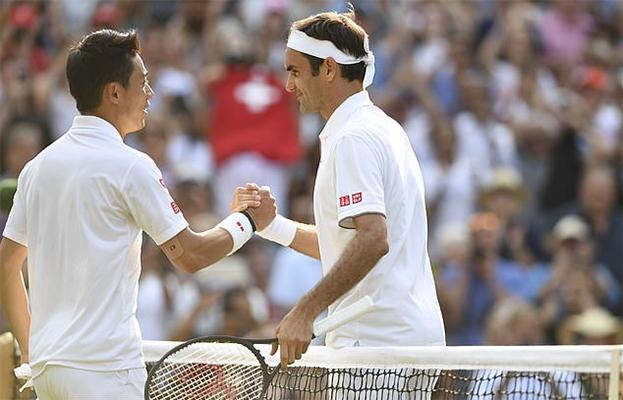Tứ kết Wimbledon 2019: Federer lại lập kỷ lục