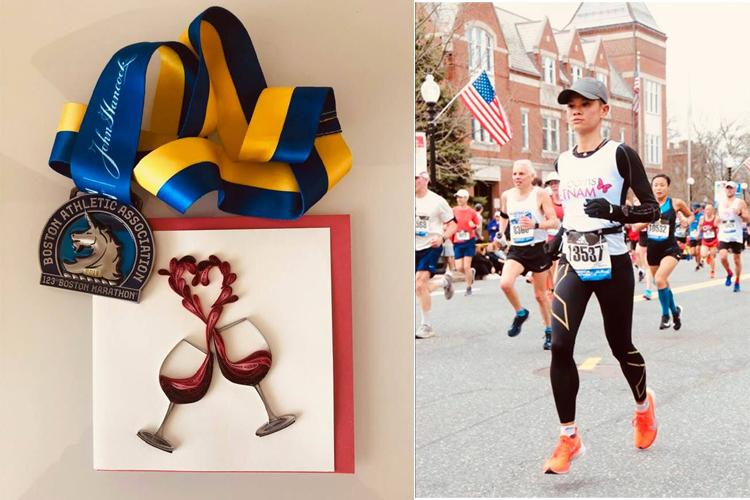 Vận động viên dự Boston Marathon 2019 lập kỷ lục gây quỹ từ thiện