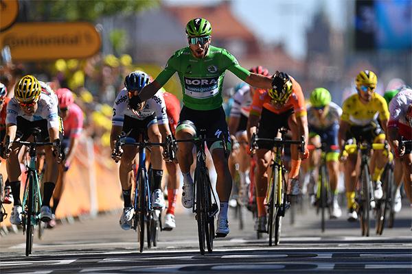Chặng 5 Tour de France 2019: Peter Sagan hướng đến kỷ lục 7 lần đoạt áo xanh