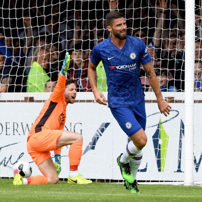 Giroud tỏa sáng, HLV Lampard có chiến thắng đầu tay với Chelsea