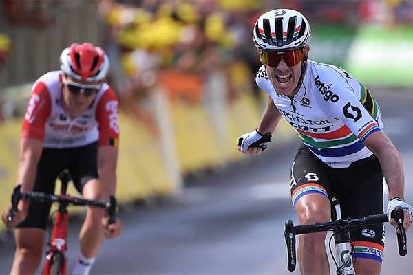 Chặng 9 Tour de France: Daryl Impey thắng cuộc đua song mã