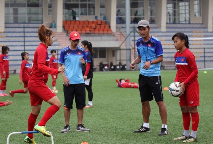 ĐT U19 nữ Việt Nam nhận hỗ trợ đặc biệt từ Đại sứ quán Hàn Quốc