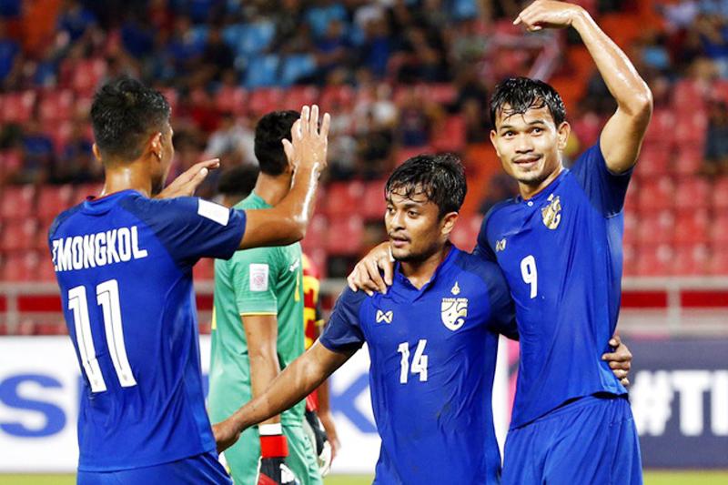 """""""Chạy đua ngầm"""" với Việt Nam, Thái Lan hướng đến mục tiêu dự World Cup thường xuyên"""