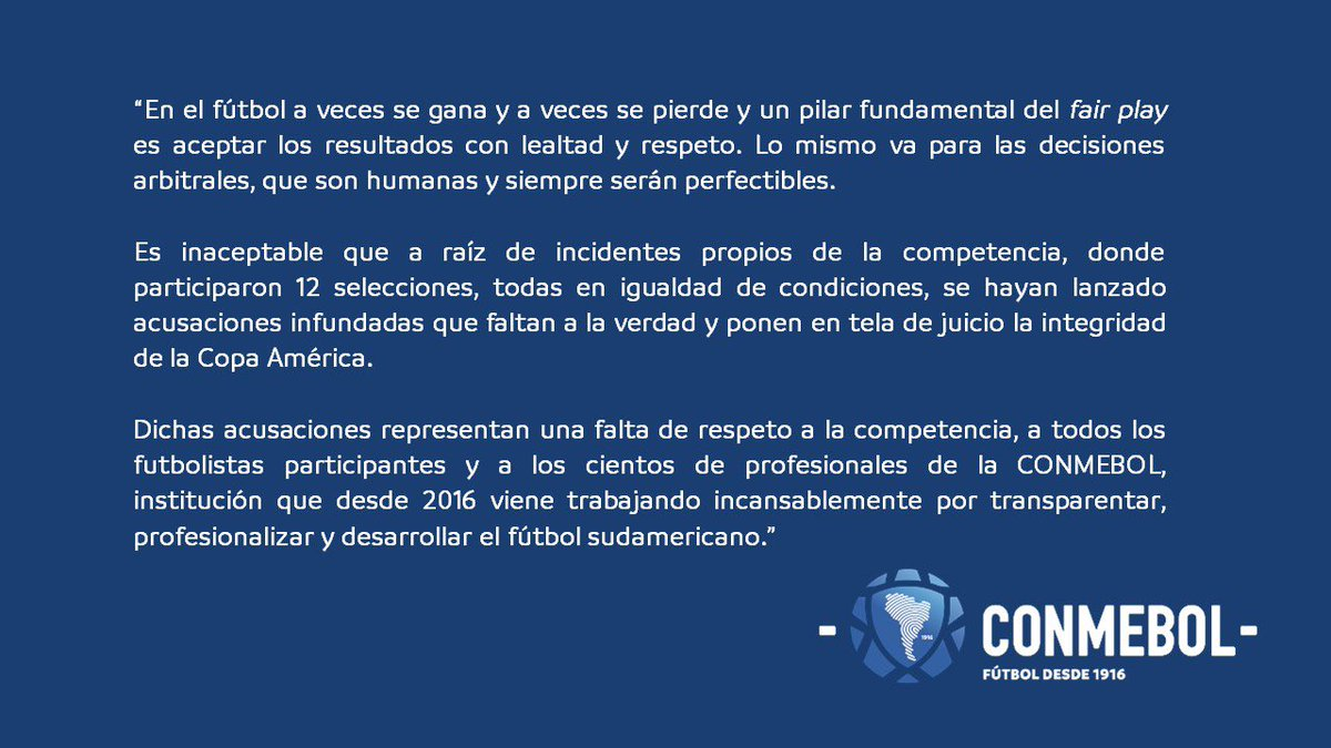 LĐBĐ Nam Mỹ giải thích thế nào khi bị Messi cáo buộc tham nhũng, nhận hối lộ?