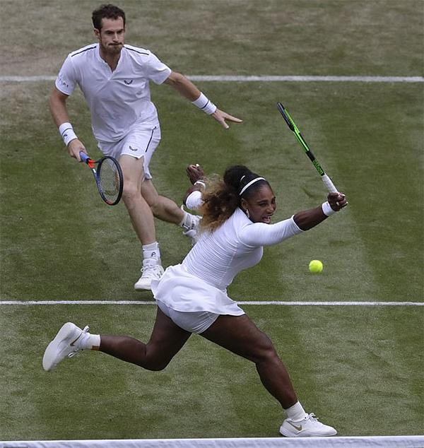 Vòng 1 Wimbledon 2019: Đôi Murray - Williams bắt đầu cuộc phiêu lưu đáng yêu