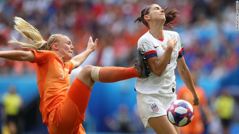 Những điểm nhấn ở chung kết World Cup bóng đá nữ giữa Mỹ và Hà Lan