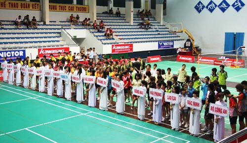 235 VĐV tham dự Giải cầu lông các cây vợt xuất sắc thanh niên - trẻ toàn quốc 2019