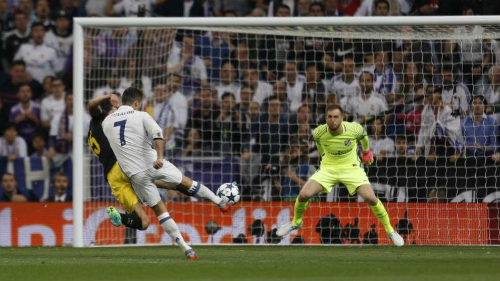 Những con số ấn tượng của Ronaldo khi chạm trán Atletico Madrid