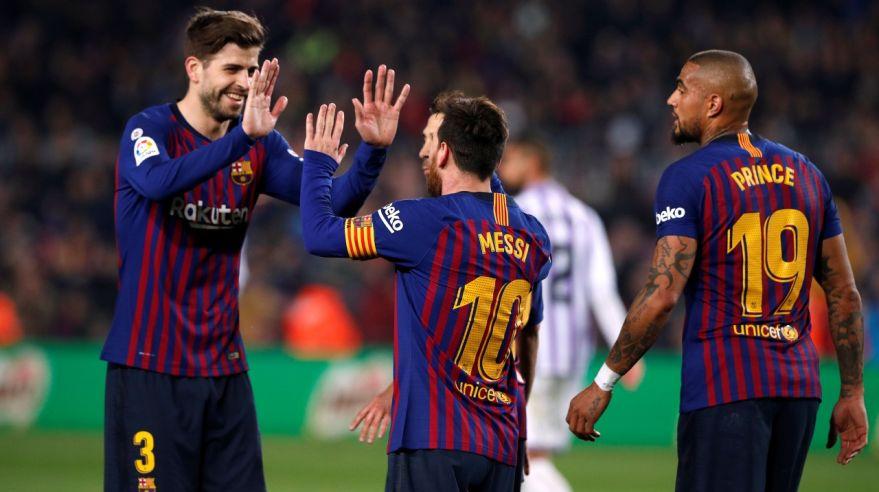 Quá khứ nói Barca có lý do để lo cho chuyến làm khách đến sân Lyon đêm nay