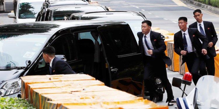 Cận vệ của Chủ tịch Triều Tiên Kim Jong Un tập võ gì?
