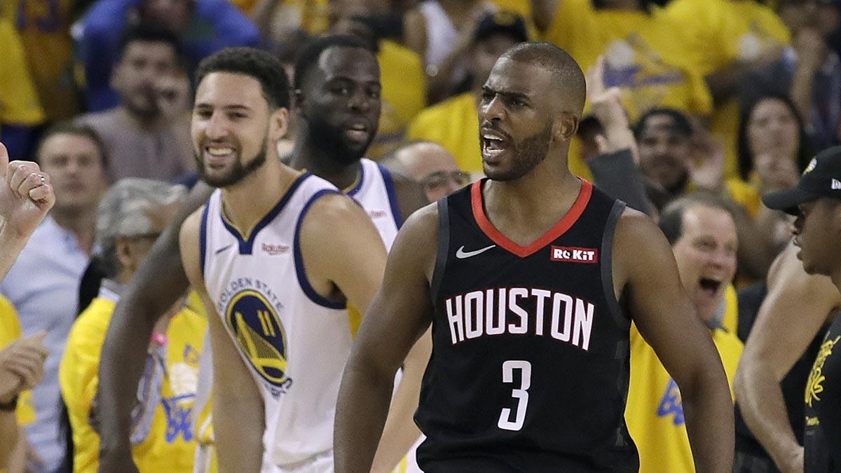 Chris Paul nhận án phạt của NBA sau tình huống nổi điên với trọng tài