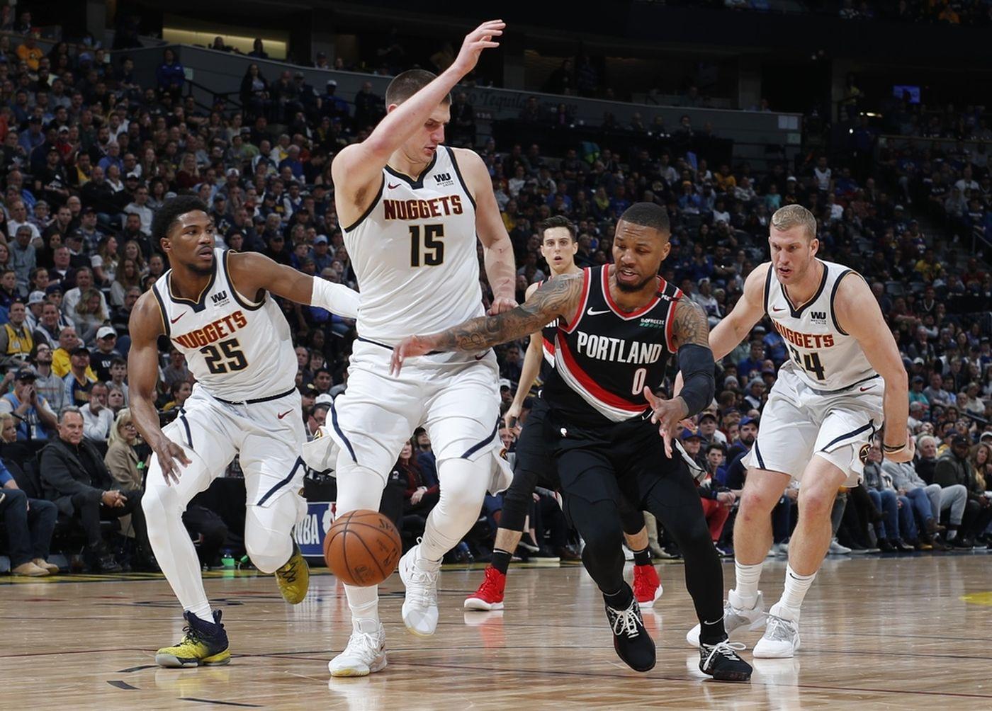 Nhận định NBA: Denver Nuggets vs Portland Trail Blazers (ngày 2/5, 8h00)