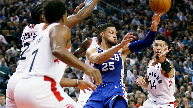 Nhận định NBA: Toronto Raptors vs Philadelphia 76ers (ngày 28/4, 6h30)