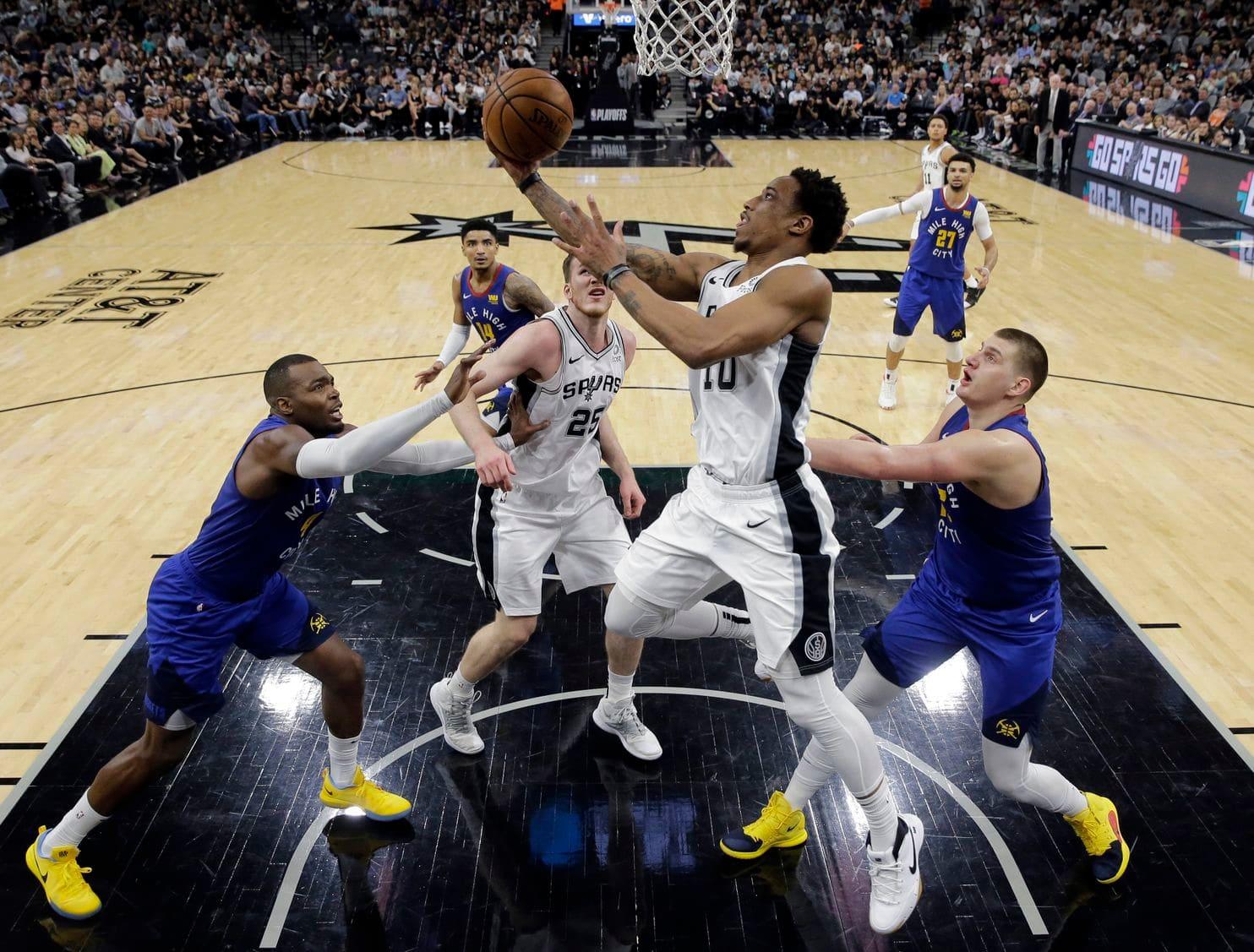 Nhận định NBA: Denver Nuggets vs San Antonio Spurs (ngày 28/4, 9h00)