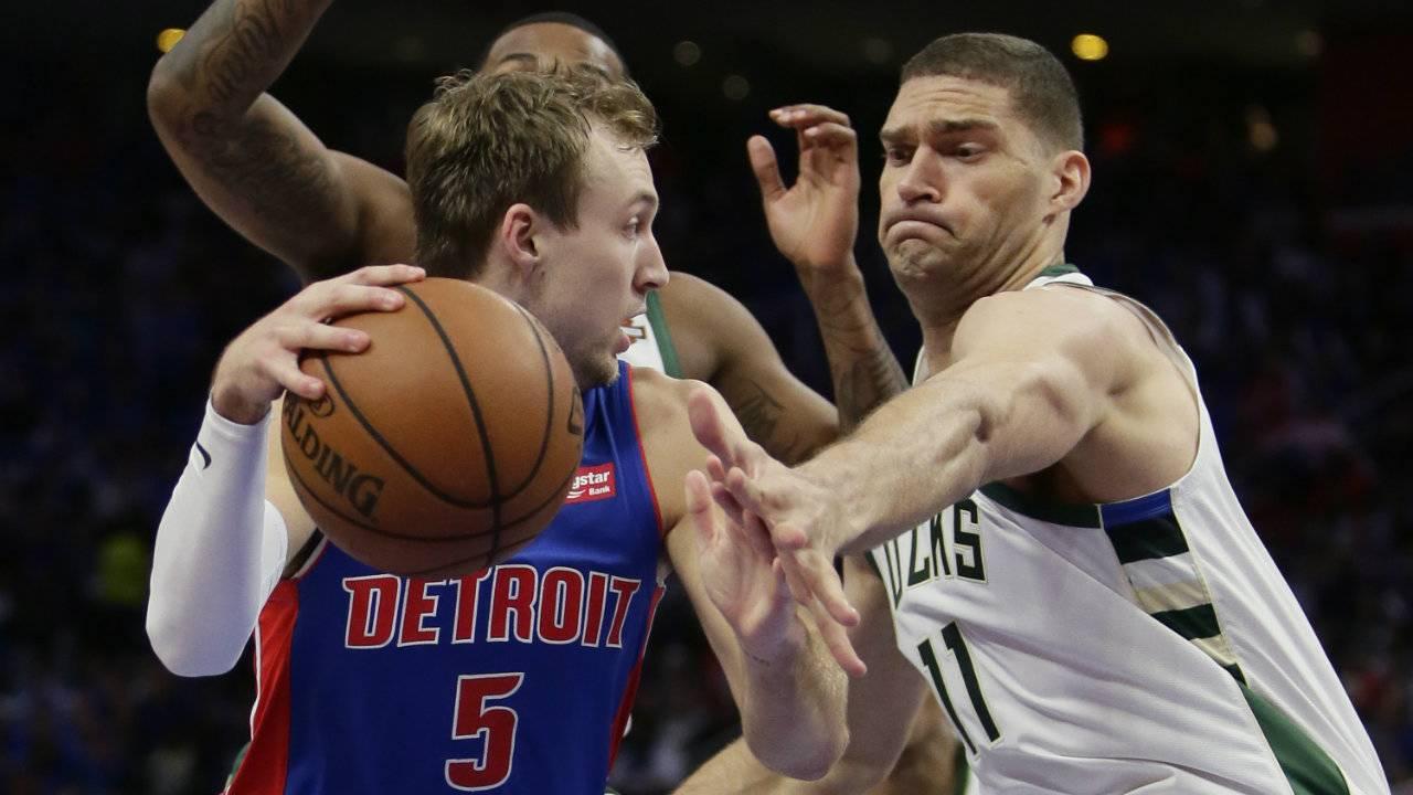 Nhận định NBA: Detroit Pistons vs Milwaukee Bucks (ngày 23/4, 7h00)