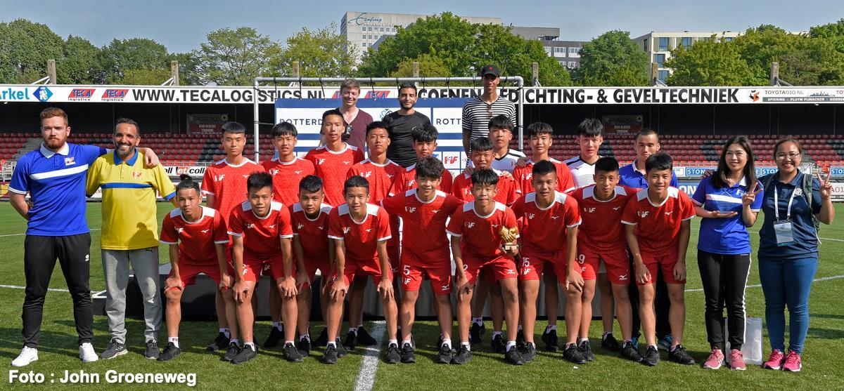 U15 PVF gây ấn tượng mạnh với Atletico Madrid tại giải giao hữu trên đất Hà Lan
