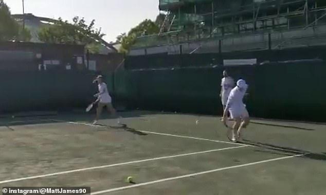 Andy Murray đang nỗ lực lập thần tích
