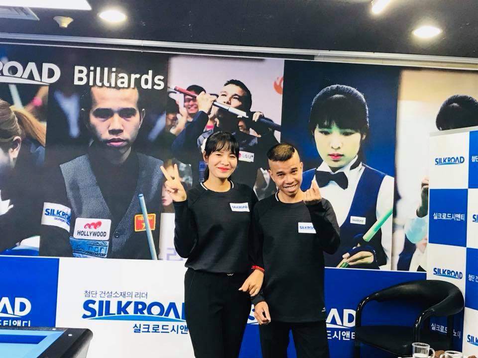 """""""Thánh nữ billiards"""" Srong Pheavy: """"Tôi phải cố gắng để bắt kịp các cơ thủ nam"""""""