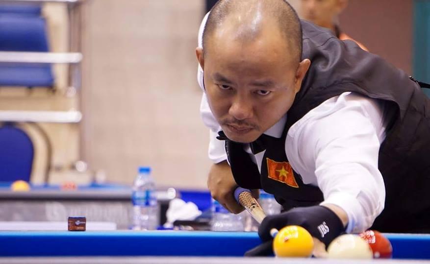 Đỗ Nguyễn Trung Hậu đánh bại cơ thủ hạng 3 thế giới tại giải billiards carom vô địch châu Á 2019
