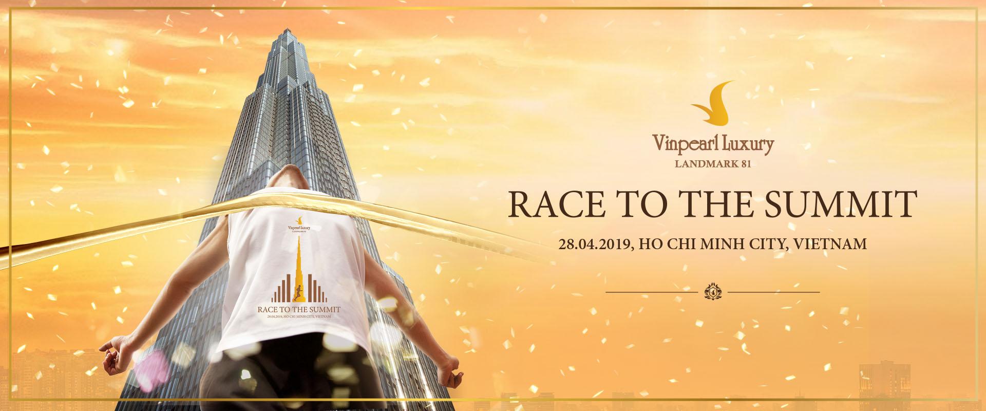 Chinh phục tòa nhà cao nhất Đông Nam Á với Giải chạy cầu thang bộ Vinpearl Luxury Landmark 81