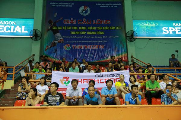 Giải cầu lông CLB các tỉnh, thành, ngành toàn quốc 2019 – cơ hội cọ xát của các VĐV trẻ