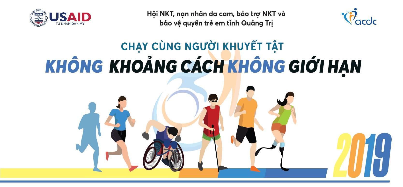 """600 vận động viên """"Chạy cùng người khuyết tật 2019"""" gây quỹ gần 300 triệu đồng"""
