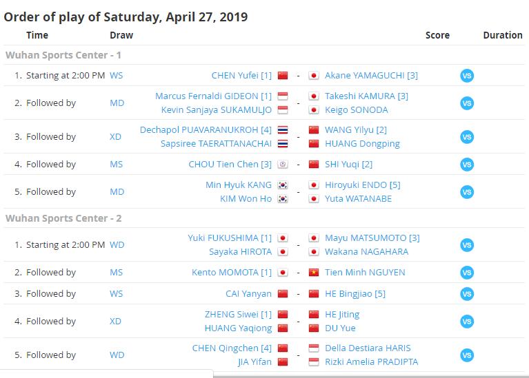 Nguyễn Tiến Minh sẵn sằng đấu tay vợt số 1 thế giới Kento Momota  ở bán kết giải vô địch châu Á