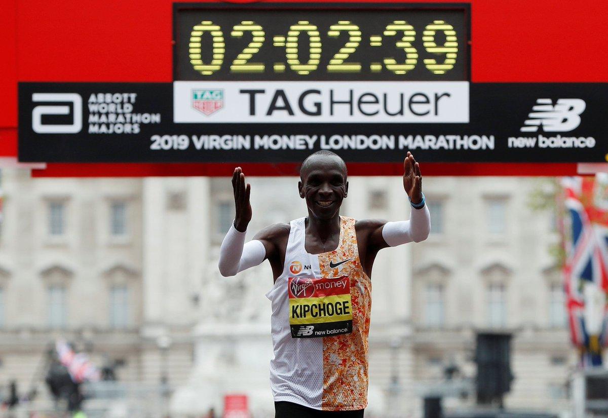 Khoảnh khắc về đích và kết quả chung cuộc London Marathon 2019
