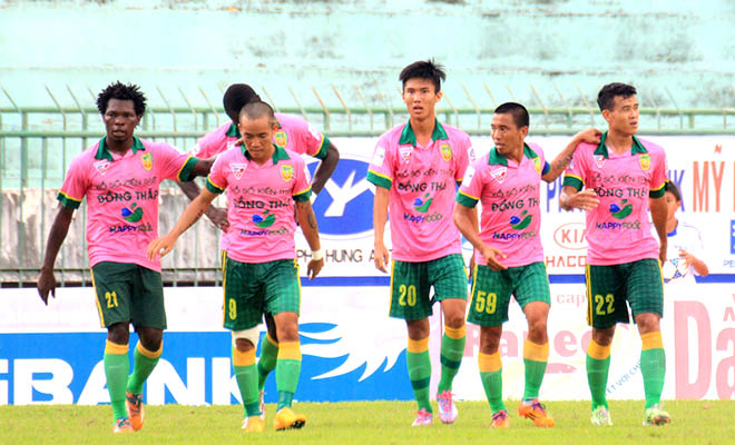 Kết quả vòng 4 hạng Nhất 2019: Đồng Tháp lấy lại ngôi đầu, Bình Định vẫn chưa có chiến thắng