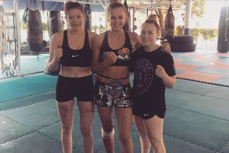 Nữ võ sĩ Muay Thái quay lại thi đấu sau tai nạn vỡ hộp sọ