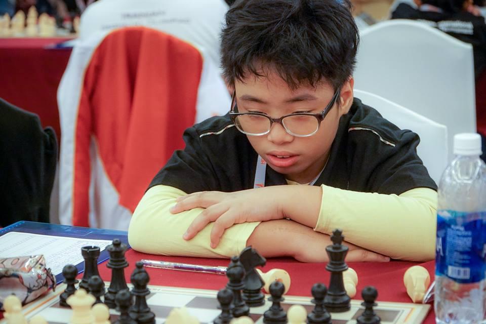 Nhà vô địch trẻ thế giới Phạm Trần Gia Phúc đoạt HCV giải cờ vua trẻ châu Á 2019