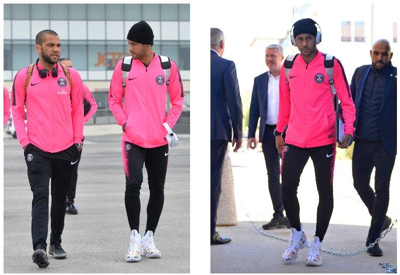 Neymar gây ấn tượng với mẫu giày Le Bron 15 - KITH
