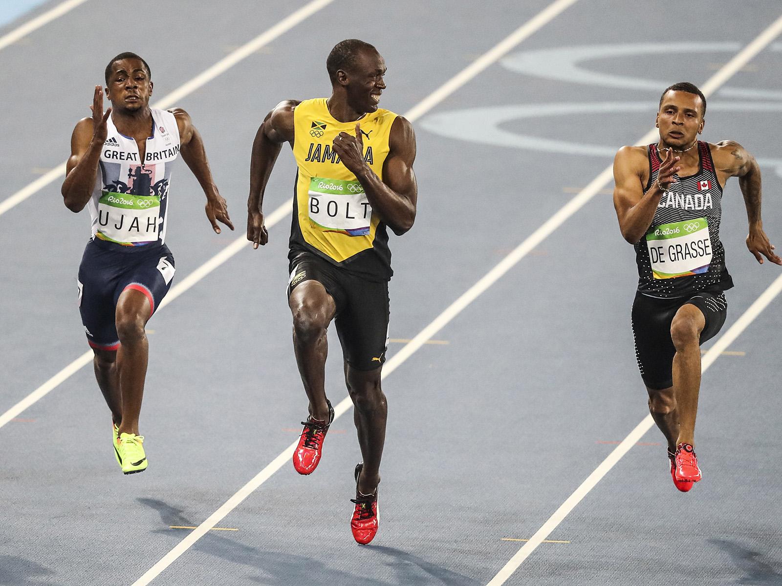 Chàng sinh viên 18 tuổi 'Tia chớp trắng' chạy 100m gần nhanh bằng Usain Bolt