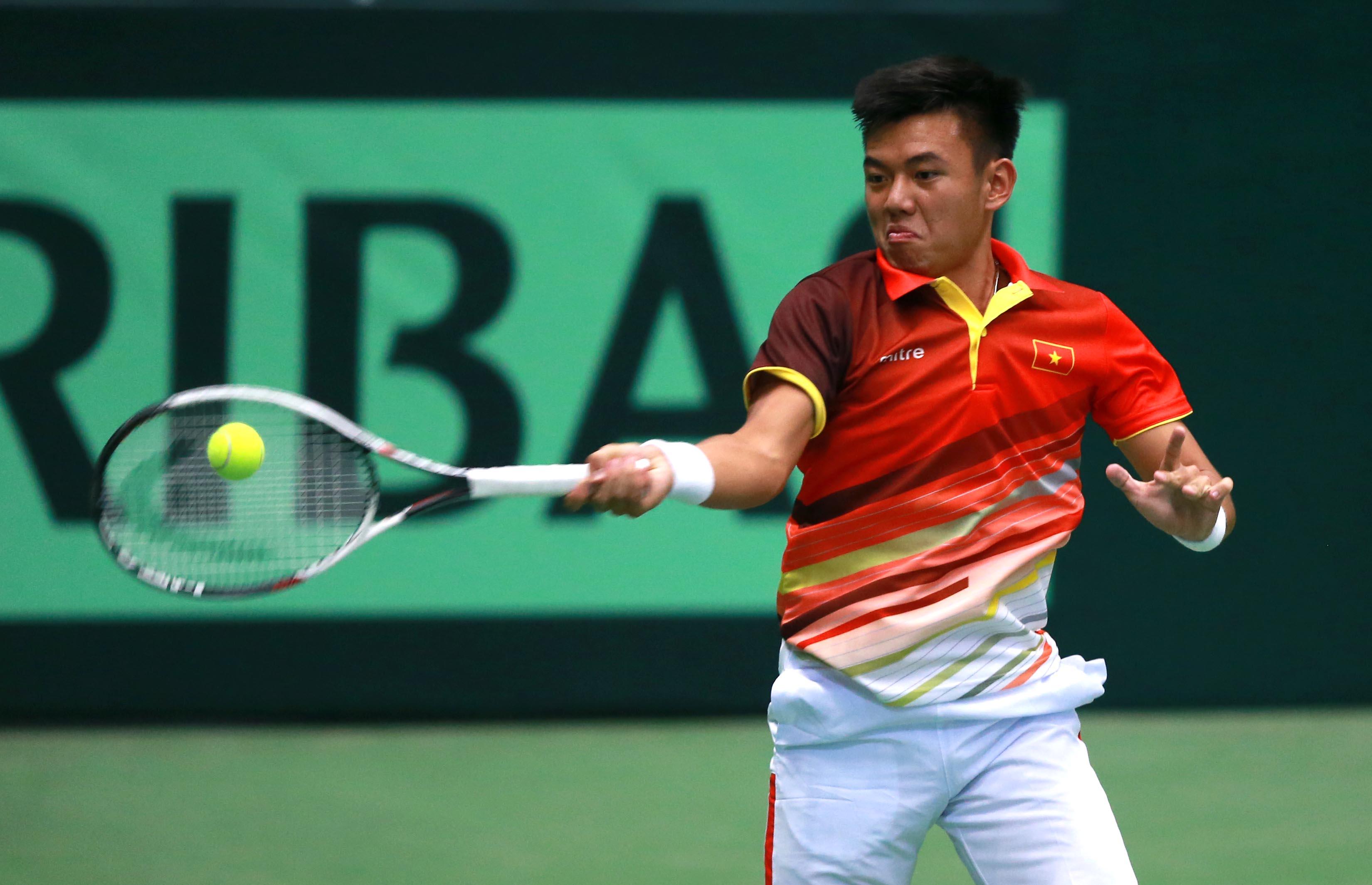 Lý Hoàng Nam vào vòng 2 giải tennis Savannah Challenger 2019