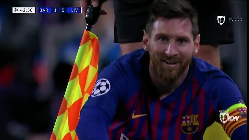 Milner đã thực hiện hành động trả thù Messi trong trận Barca vs Liverpool?