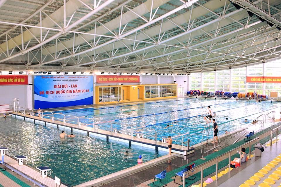 Danh sách bể bơi tại Hà Nội mở cửa phục vụ dịp hè 2020