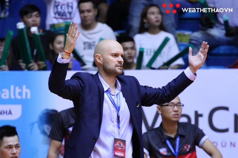 Thang Long Warriors tái hợp với HLV Predrag Lukic