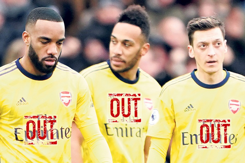 Arsenal xây dựng lại đội hình với 3 cầu thủ mới và bán 3 ngôi sao