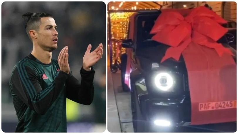 Ronaldo bổ sung vào bộ sưu tập siêu xe trị giá 8 triệu bảng