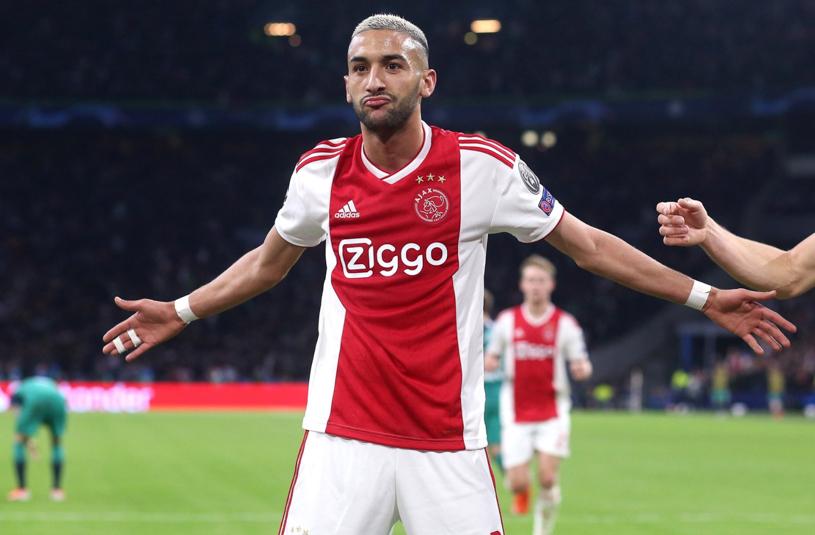 CĐV Ajax choáng vì mức phí rẻ bất ngờ để Ziyech sang Chelsea