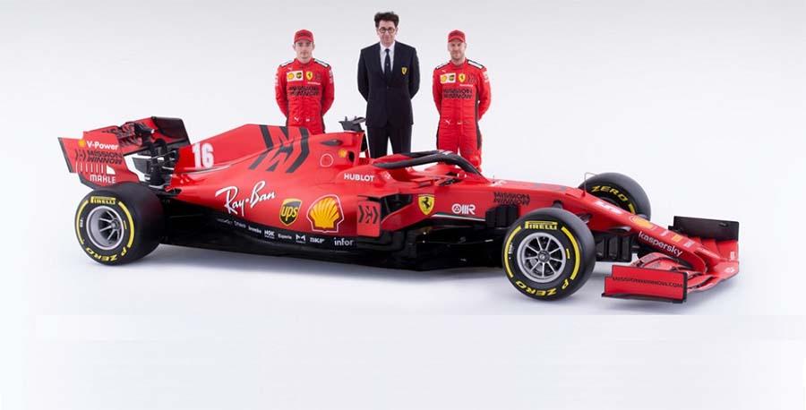 Đua F1 mùa 2020: Ferrari tin tưởng Vettel, thay vì Lewis Hamilton