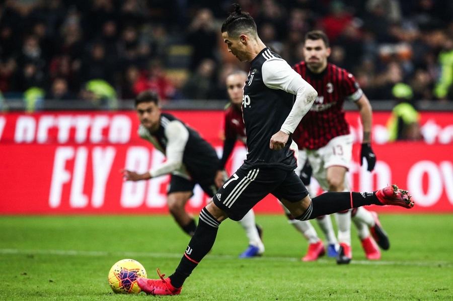 Ronaldo lập thành tích độc nhất vô nhị trong năm 2020